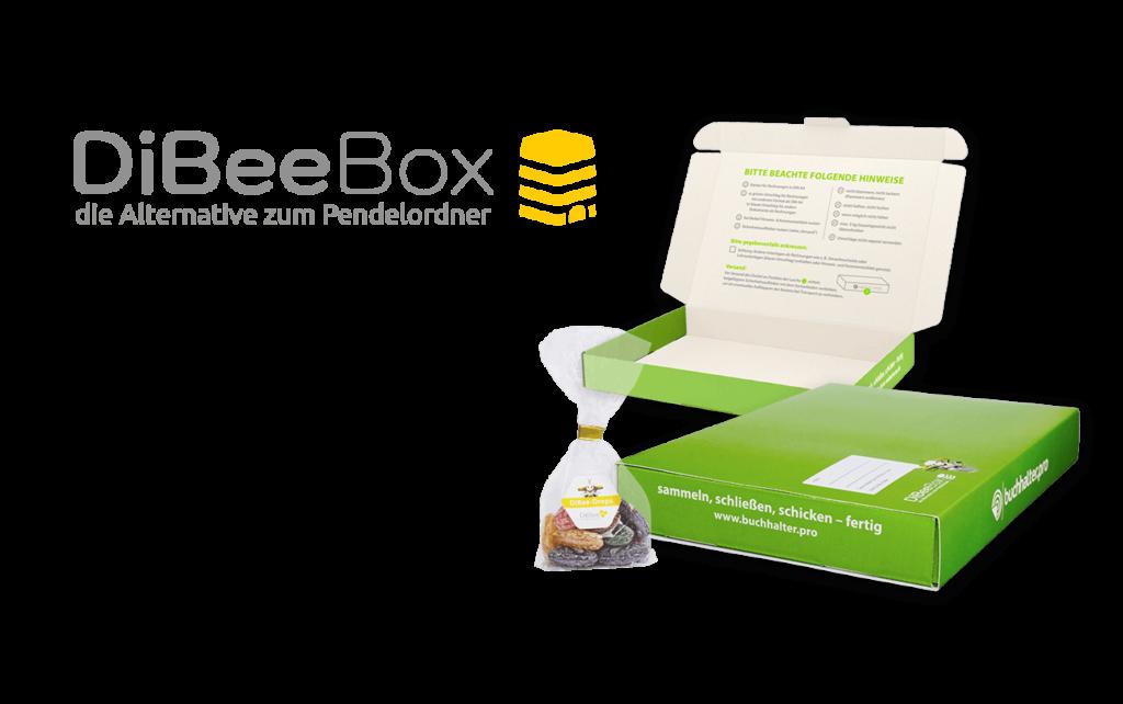 Logodesign Box Versandschachtel Biene Bonbon Layout
