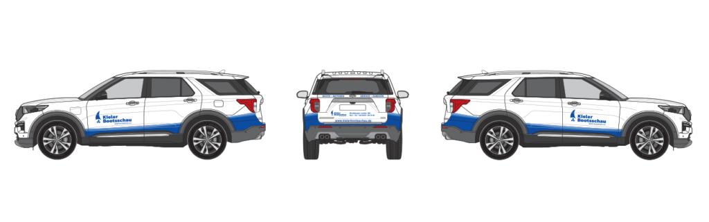 Autofolierung Fahrzeugbeschriftung Corporate Design