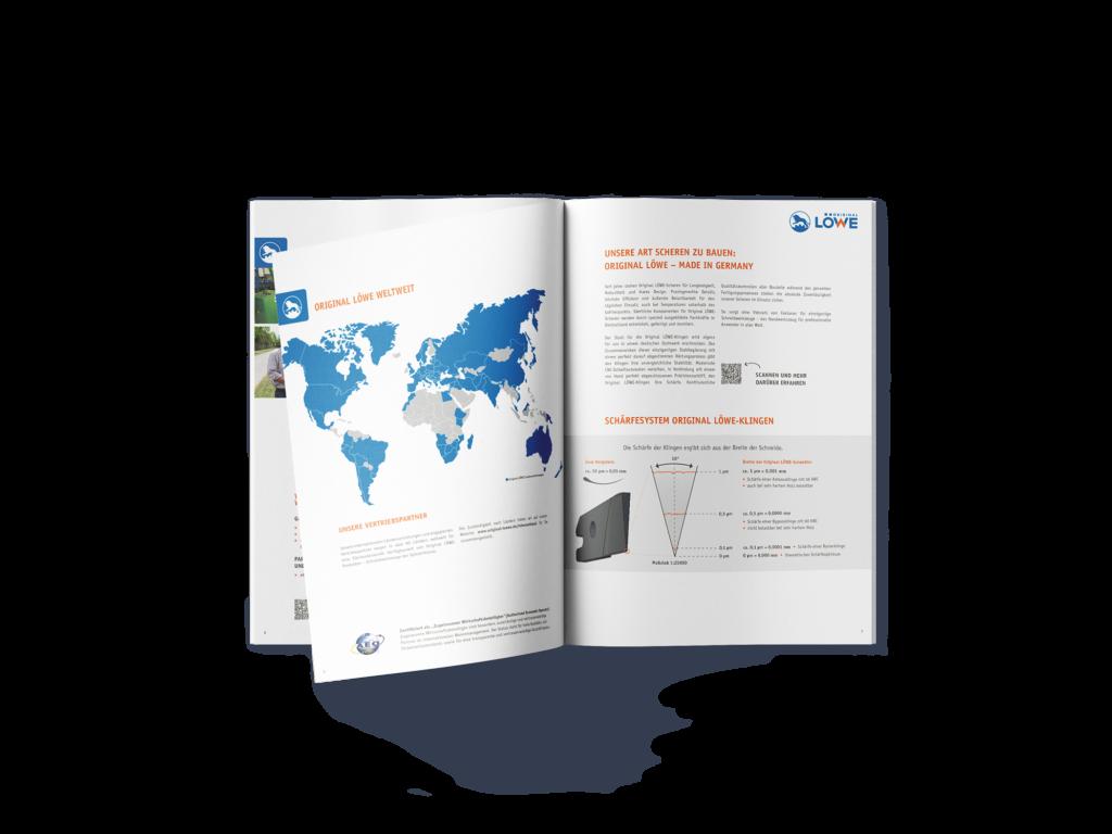 Katalog Gestaltung Corporate Design Produktkataloge Original LÖWE
