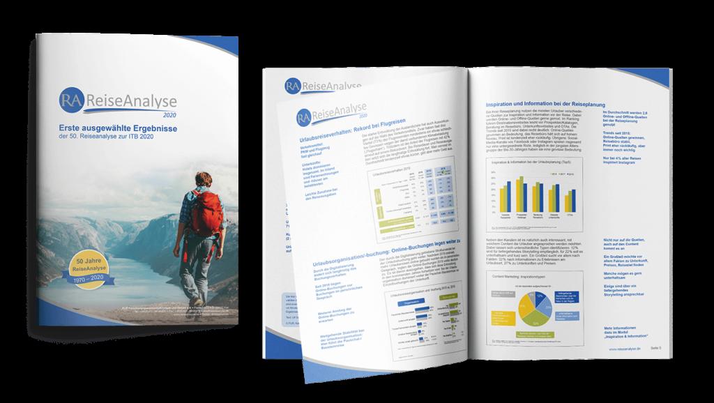 Broschüre A4 Forschung Urlaub Gestaltung