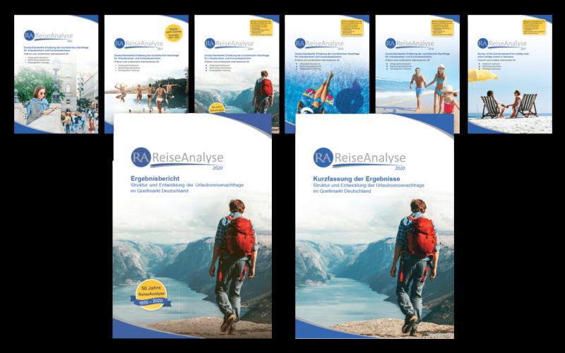Flyer Broschüren A4 Layout Gestaltung Reisen Forschung