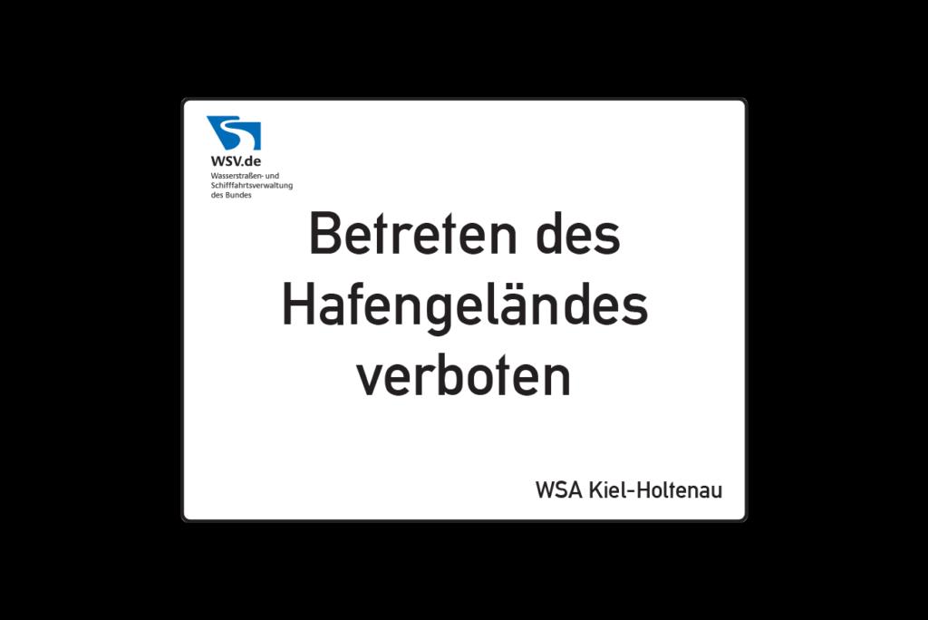 Schild Wasserstraßenverkehrsordnung Hinweisschilder Schild Layout