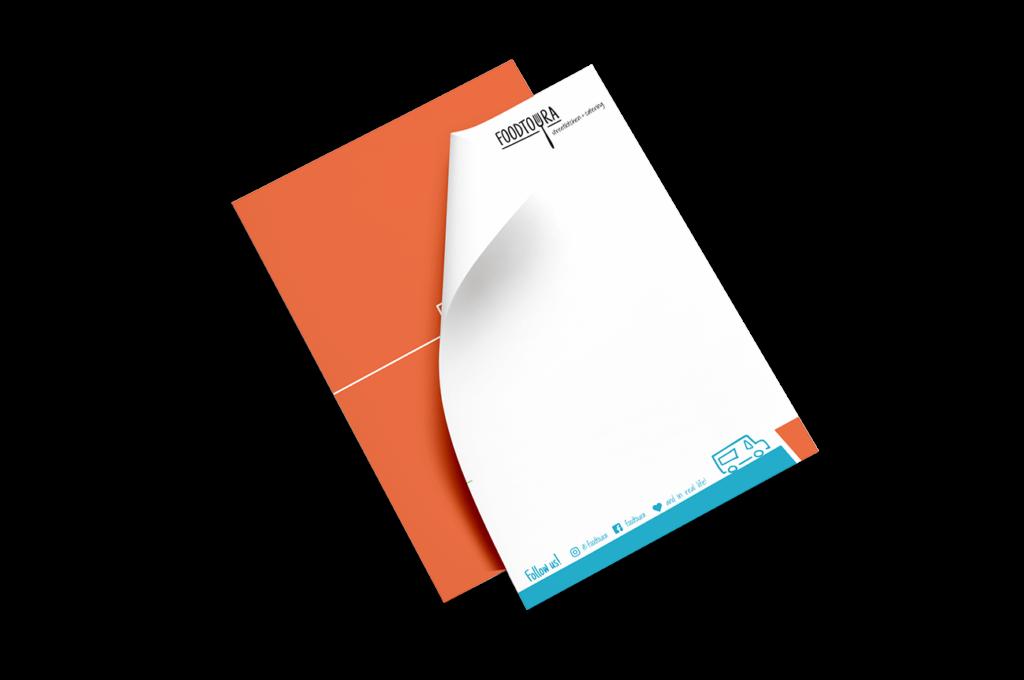 Briefpapier Gestaltung Layout Corporate Design Mockup Flensburg