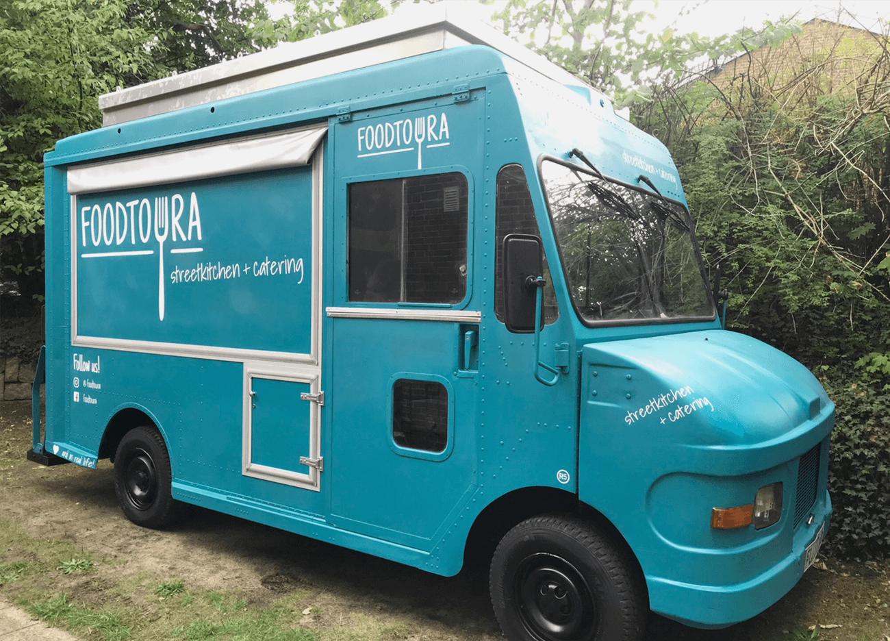 Foodtruck Gestaltung Fahrzeugbeschriftung Lackierung Flensburg