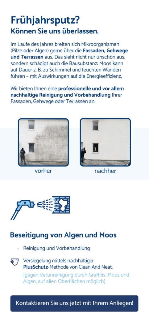 Flyer Graffittientfernung