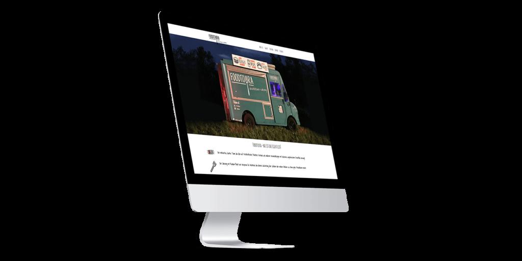 Foodtruck Flensburg Screendesign Webseite