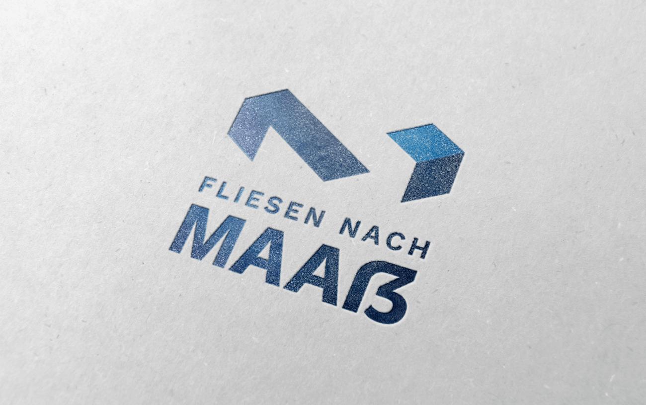 Logodesign Fliesenleger Handwerk Kiel